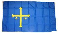 Fahne / Flagge Spanien - Asturien 90 x 150 cm