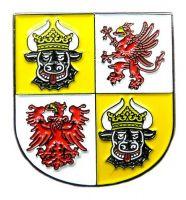 Pin Mecklenburg Vorpommern Wappen Anstecker NEU Anstecknadel
