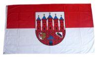 Fahne / Flagge Zerbst 90 x 150 cm