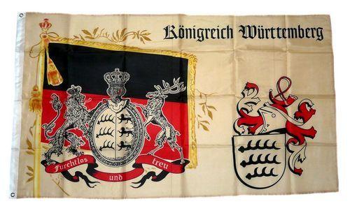Fahne Königreich Bayern Hissflagge 90 x 150 cm Flagge