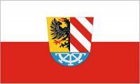 Fahne / Flagge Landkreis Nürnberg 90 x 150 cm