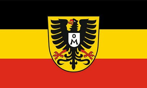 Fahne / Flagge Mosbach 90 x 150 cm
