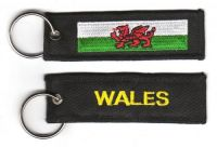 Fahnen Schlüsselanhänger Wales