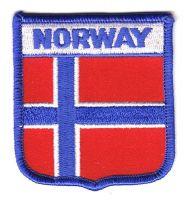 Wappen Aufnäher Fahne Norwegen