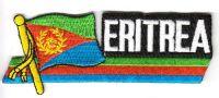 Fahnen Sidekick Aufnäher Eritrea