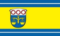 Fahne / Flagge Schöffengrund 90 x 150 cm