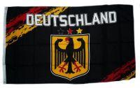 Fahne / Flagge Deutschland Fan schwarz 1909 90 x 150 cm