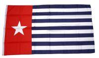 Flagge / Fahne Republik Westpapua Hissflagge 90 x 150 cm