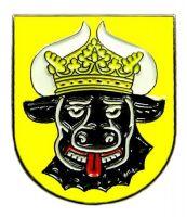 Pin Mecklenburg Ochsenkopf Wappen Anstecker NEU Anstecknadel