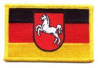 Fahnen Aufnäher Niedersachsen