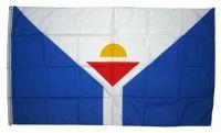 Fahne / Flagge Frankreich - Saint Martin 90 x 150 cm