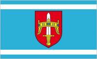 Fahne / Flagge Kroatien - Sibenik Knin 90 x 150 cm