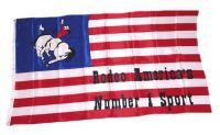 Fahne / Flagge USA - Rodeo 90 x 150 cm