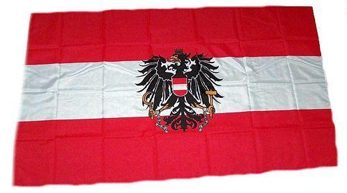 Fahne / Flagge Österreich Adler 30 x 45 cm