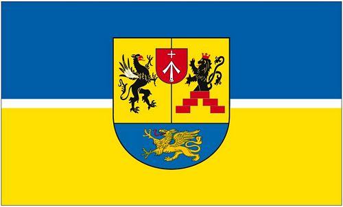Fahne Kröpelin Hissflagge 90 x 150 cm Flagge