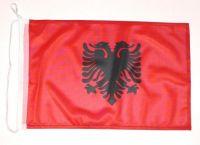 Bootsflagge Albanien 30 x 45 cm