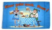 Fahne / Flagge Einer geht noch! Prost Bier 90 x 150 cm