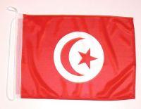 Bootsflagge Tunesien 30 x 45 cm