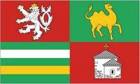 Fahne / Flagge Tschechien - Pilsen 90 x 150 cm