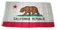 Fahne / Flagge USA - Kalifornien 150 x 250 cm
