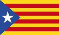 Fahne / Flagge Spanien - Estelada Blava 90 x 150 cm