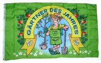Fahne / Flagge Gärtner des Jahres 90 x 150 cm