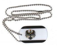 Dog Tag Fahne Königreich Preußen