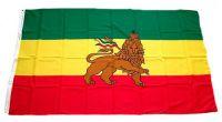 Flagge / Fahne Äthiopien mit Löwe Hissflagge 90 x 150 cm