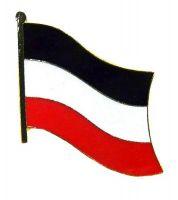Flaggen Pin Deutsches Reich Kaiserreich NEU Fahne Flagge Anstecknadel