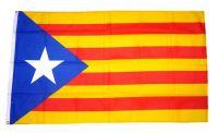Fahne / Flagge Spanien - Katalonien Estelada Blava 90 x 150 cm