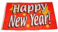 Fahne / Flagge Happy New Year 60 x 90 cm