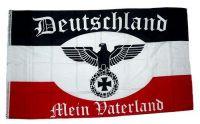 Fahne / Flagge Deutschland Mein Vaterland 150 x 250 cm
