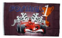 Fahne / Flagge Formel 1 Pokal 90 x 150 cm