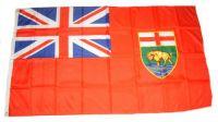 Flagge / Fahne Kanada - Manitoba Hissflagge 90 x 150 cm