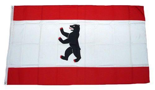 Flagge / Fahne Berlin Hissflagge 90 x 150 cm