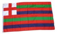 Fahne / Flagge Großbritannien Red Green White Stripe 90 x 150 cm