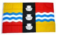 Fahne / Flagge England - Bedfordshire new 90 x 150 cm