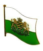 Flaggen Pin Königreich Sachsen NEU Fahne Flagge Anstecknadel
