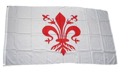 Fahne / Flagge Italien - Florenz 90 x 150 cm