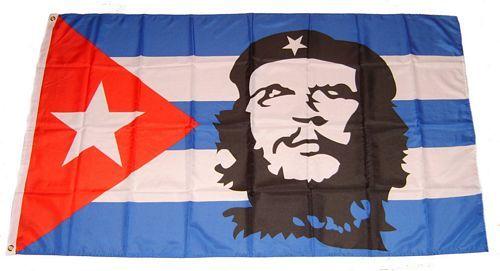 Fahne / Flagge Kuba - Che Guevara 60 x 90 cm