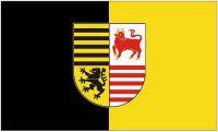 Fahne / Flagge Landkreis Elbe Elster 90 x 150 cm