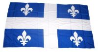 Fahne / Flagge Kanada - Quebec 30 x 45 cm