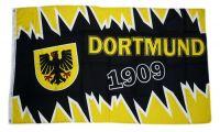 Fahne / Flagge Dortmund Zacken 90 x 150 cm