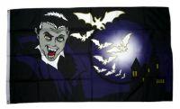 Fahne / Flagge Dracula Fledermaus 90 x 150 cm