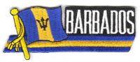 Fahnen Sidekick Aufnäher Barbados