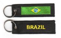 Fahnen Schlüsselanhänger Brasilien