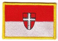 Fahnen Aufnäher Österreich - Wien Fahne