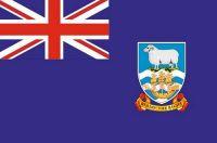 Fahnen Aufkleber Sticker Falkland Inseln