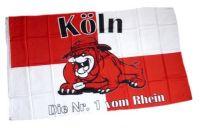 Fahne / Flagge Köln Bulldogge 90 x 150 cm