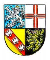 Pin Saarland Wappen Anstecker NEU Anstecknadel